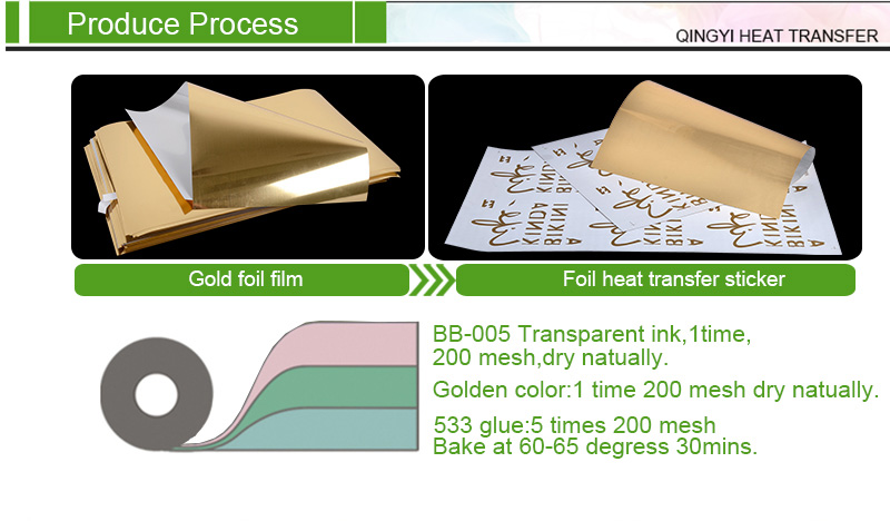 Gold Heat Transfer Foil